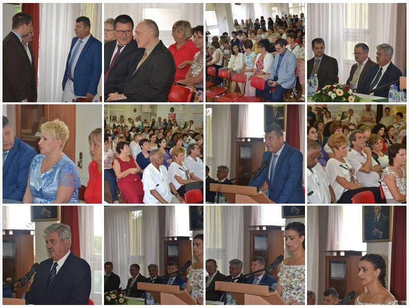 A kórházi dolgozók ünnepsége – elismerésekkel df301bbe89